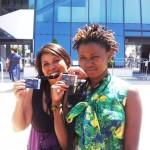 Lalatiana Rahariniaina et Rosebell Kagumire