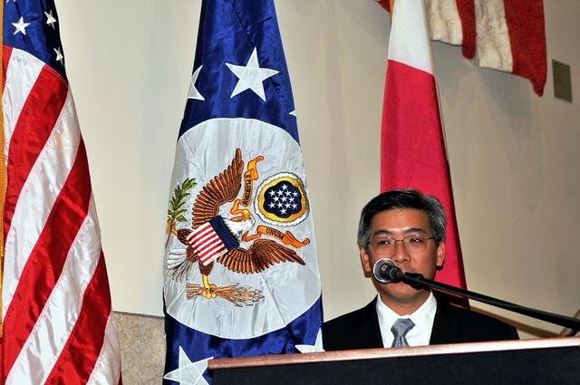 Eric Wong, Chargé d'Affaires de l'ambassade américaine à Madagascar