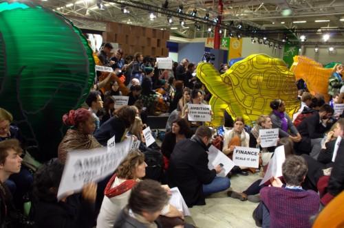 Activistes représentant la société civile à la COP21