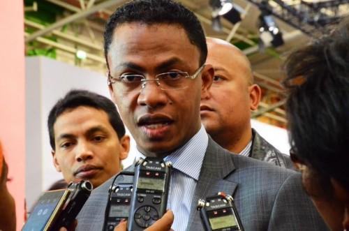 Mr Ralava BEBOARIMISA, Ministre de de l'Environnement, de l'Écologie, de la Mer et des Forêts de Madagascar