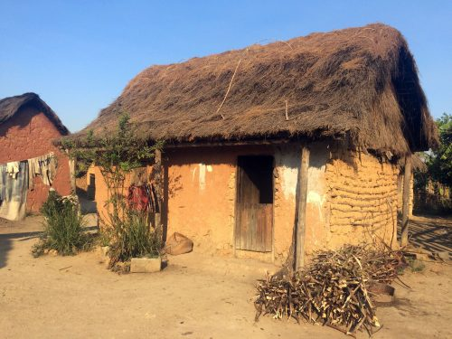 Village Amberomena. Photo: Lalah Ariniaina