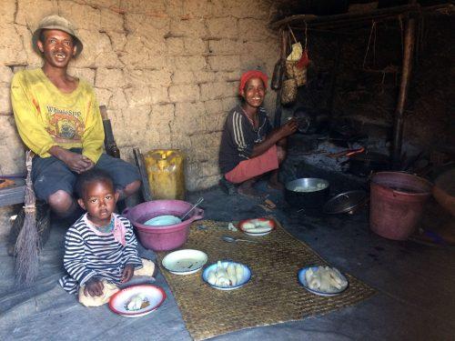 Famille Amberomena . Photo: Lalah Ariniaina