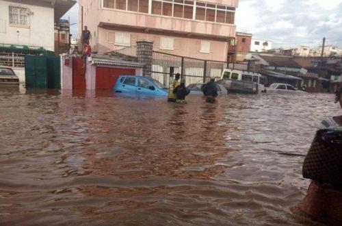 Article : Une heure de pluie et Antananarivo est sous les eaux